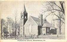 Stewartstown Pennsylvania Presbyterian Church Antique Postcard K50564