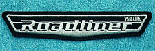 """YAMAHA  ROADLINER EMBROIDERED  IRON ON PATCH 5 1/2"""" WIDE x 1"""" HIGH"""