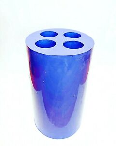 silicone taper Candle Mold 4 cavities chime spell rutual candles mould