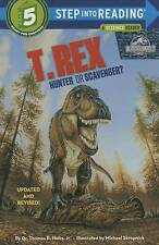 T. Rex: Hunter or Scavenger? (Jurassic World) (Step into Reading)-ExLibrary