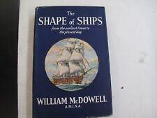 Sailing The Sea Shipbuilding History The Shape of Ships Color Illus. DJ McDowell