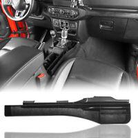 Gear Shift Side Console Storage Box Organizer Black for 2018-2021 Jeep JL & JT
