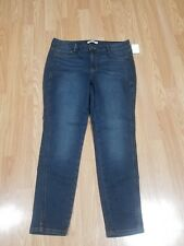 b64dadb20e68 Charlotte Russe Refuge Dark Wash Core Stretch Ankle Jeans Size 12