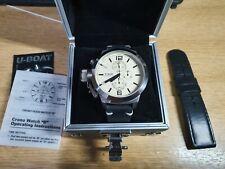 U-BOAT B45-08 LI046M Limited Edition Chrono Watch with Card and instructions