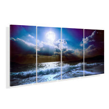 Large Sea Wave Framed HD Canvas Print Picture Painting Wall Art Ready To Hang US