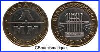 RARE - Essai de frappe 10 francs génie bimétallique GEM 196.12 - FACTURE