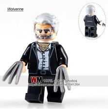 Logan Wolverine marvel comics custom minifigure Fits Lego  - TRUSTED UK SELLER