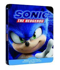 Blu-Ray Sonic La Película (Steelbook - Ed. Limitada - España) ¡Nuevo!