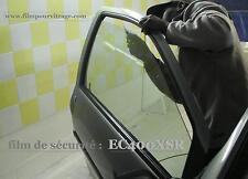Film pour vitrage de sécurité incolore anti car jacking - film en 51 cm de large