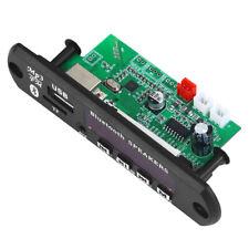 Practical Car 12V Bluetooth Speaker AUX Decoder Board MP3 USB FM Audio Receiver
