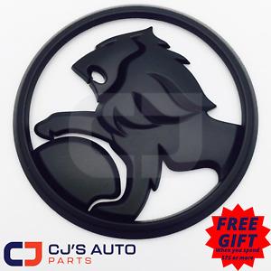 Holden Matte Black Lion Badge Commodore Grille VE SV6 SS Calais Berlina Omega