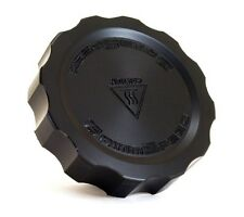 "GrimmSpeed ""Cool Touch"" Black Delrin Oil Filler Cap for Subaru"