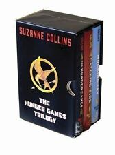 THE HUNGER GAMES TRILOGY SET The Hunger Games; Catching Fire; Mocking Jay - NEW