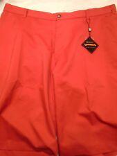 Loudmouth Golf Fundamental Daiquiri Red Golf Shorts NWT 40 waist