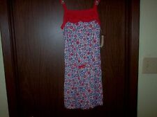 Bobbie Brooks,size M 7-8, Multi-colored girl's sleeveless Jumpsuit