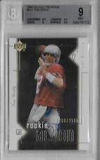 2000 Tom Brady Upper Deck UD Gold Reserve RC- BGS 9 Mint w/9.5 subs- #1268/2500
