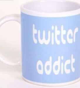 Twitter Addict Mug GREAT CHRISTMAS GIFT FOR HIM OR HER