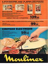 PUBLICITE  1966   MOULINEX  accessoires  de cuisine