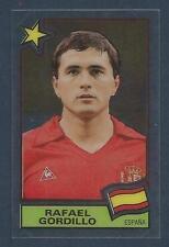 PANINI FOOTBALL SUPERSTARS 1984 -SPAIN-ESPANA-RAFAEL GORDILLO