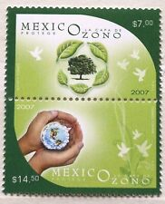 Mexico 2007 Ozone Layer Protection Water Tree Birds Green Earth Ecology Air MNH