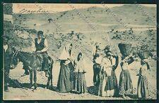 Catania Costumi Siciliani Randazzo cartolina QQ0837