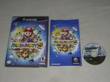 NINTENDO GAMECUBE VIDEO GAME MARIO PARTY 5 DISC W CASE & MANUAL Wii YOSHI LUIGI