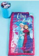 Frozen Sleeping Bag Girls Kids Youth Purple Nap Mat Slumber Toddler Princess