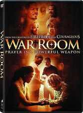 SEALED - War Room DVD NEW 2015 Alex Kendrick Family Films ! BRAND NEW