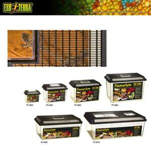 Exo Terra Faunarium -  Fauna Box Reptilien Amphibien Insekten Allzweck-Terrarium