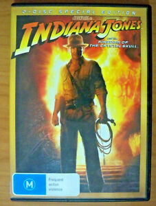Indiana Jones and the Kingdom of the Crystal Skull - DVD - Harrison Ford