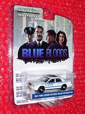 Greenlight 2001 Ford Crown Victoria Police Interceptor Hollywood BLUE BLOODS