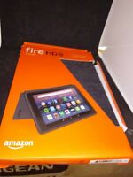 Amazon Cover for Amazon Fire HD 8 7th Generation Tablet - Charcoal Black