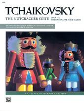 TCHAIKOVSKY - The Nutcracker Suite OP.71a Piano Book *NEW* Music 4 Hands