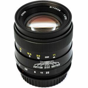 Zhongyi Mitakon Creator 85mm f/2 Lens for DSLR Canon EF Nikon F Pentax K Sony E