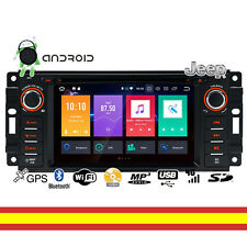 Autoradio Android 8.0 para JEEP Chrysler Octacore 4GB RAM WIFI BT GPS USB CD DVD