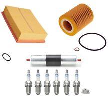 Service Kit Fits BMW 5 Series E39 520i 523i 528i Air Oil Fuel Filter Spark Plugs
