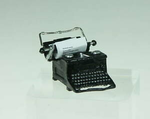 Heidi Ott Dollhouse Miniature Light 1:12 Scale Type Writer #XZ275