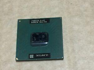 Intel Mobile Celeron SL643 1066/256 CPU Processor.