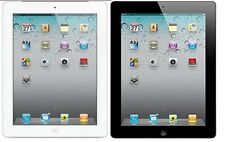 Apple iPad 2 9.7'' Wifi + 3G Cellular GSM Unlocked Tablet 16GB 32GB 64GB