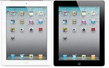apple iPad 2 9.7'' Wifi + 3G Cellular GSM Unlocked Tablet 16GB 32GB 64GB cracked