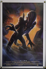 Alien Rolled Orig 1Sh Movie Poster John Alvin Ridley Scott Killian Rr94 (1979)