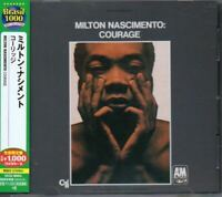 Milton Nascimento Courage JAPAN CD with OBI UCCU90053