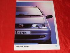 VW Sharan CL GL Carat Prospekt + Preisliste von 1995