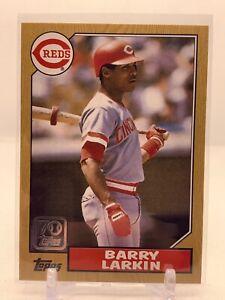 BARRY LARKIN - 2021 TOPPS Series 1 Baseball - Double Headers Insert - #TDH-11