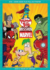 Phineas and Ferb Mission Marvel 0786936835977 DVD Region 1