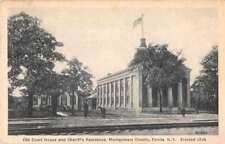 Fonda New York Montgomery Co Court House Antique Postcard J71204