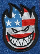 American Flag Spitfire embroidery patch