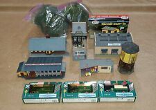 ho scale Structures, Trees and Trucks