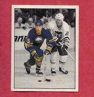 RARE 1987 SABRES  # 19 DAVE ANDREYCHUK  ACTION  STICKER CARD