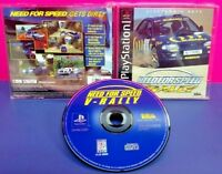 Need 4 Speed V-Rally Playstation 1 2 PS1 PS2 Game Near Mint Disc 1 Owner COMPLET